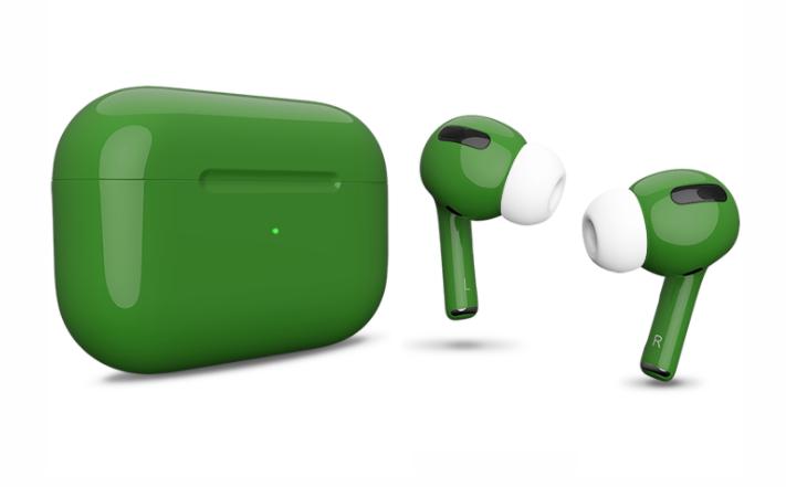 Зеленый Airpods Pro