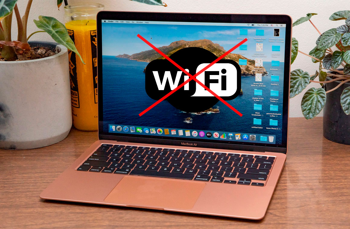 no wifi mac