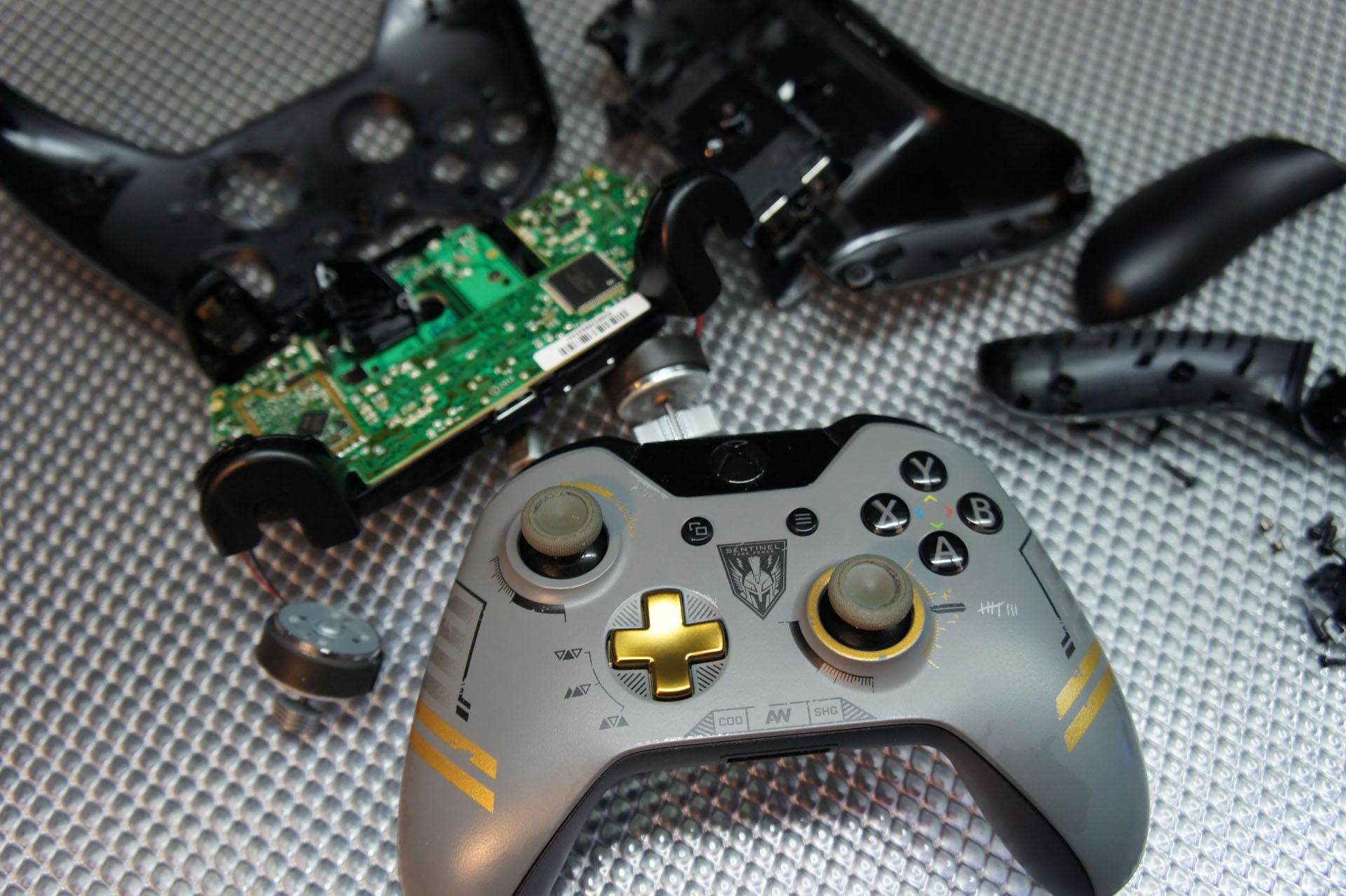Ремонт джойстиков Xbox