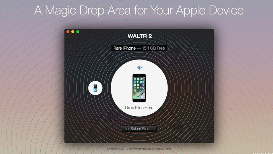 Как синхронизировать медиафайлы с iOS устройством без iTunes?