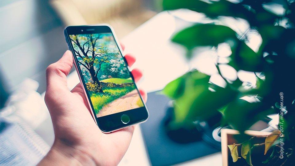 Весенние обои для iPhone, iPad