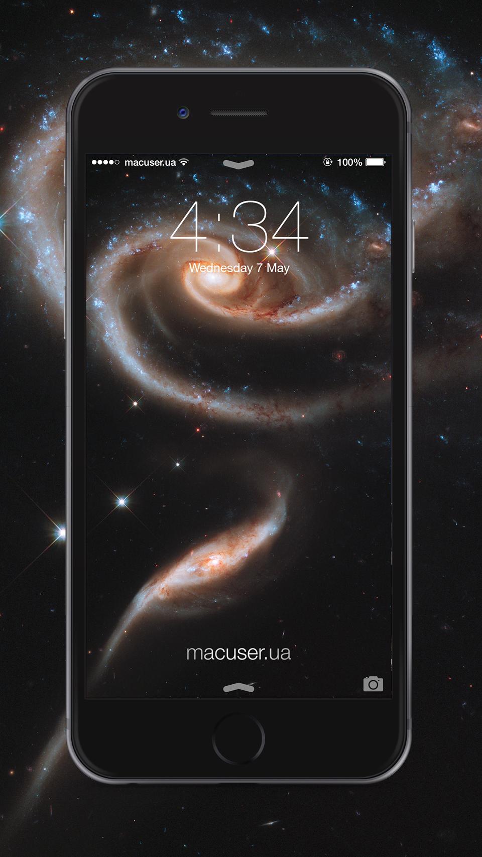 Новые обои для iOS