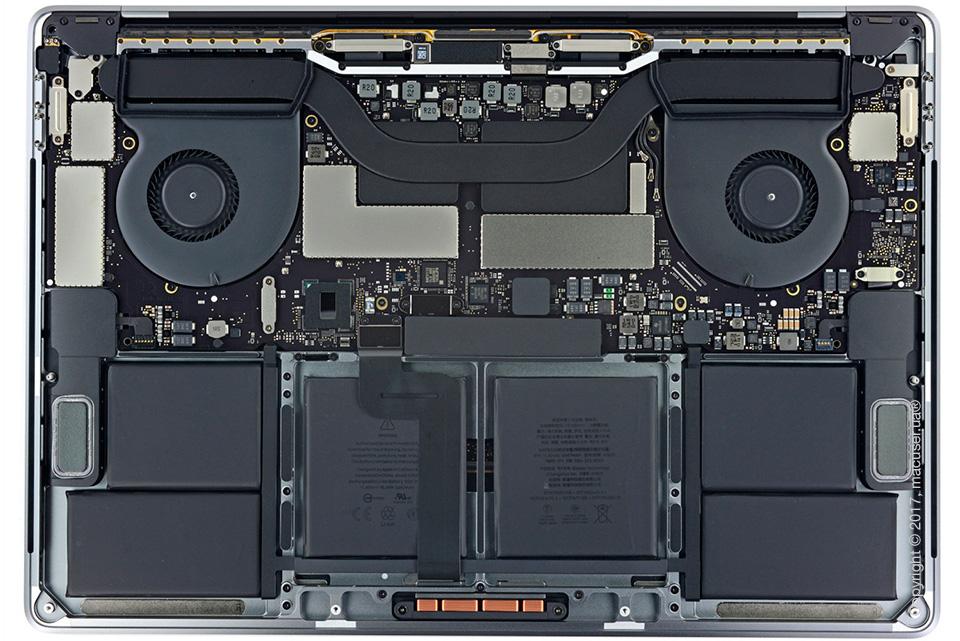 Неисправность MacBook Pro 2016