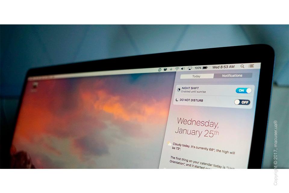 Версия macOS 10.13