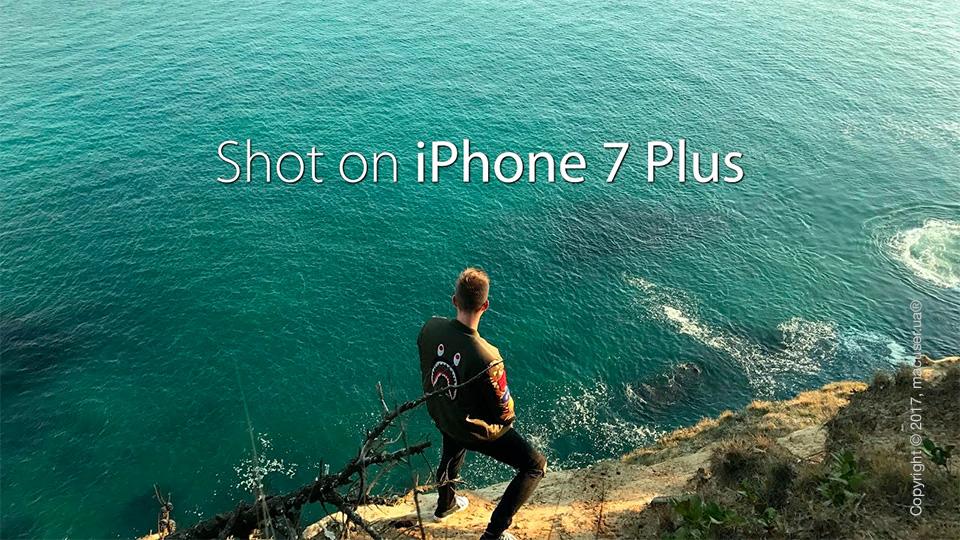 Как снимать на iPhone 7