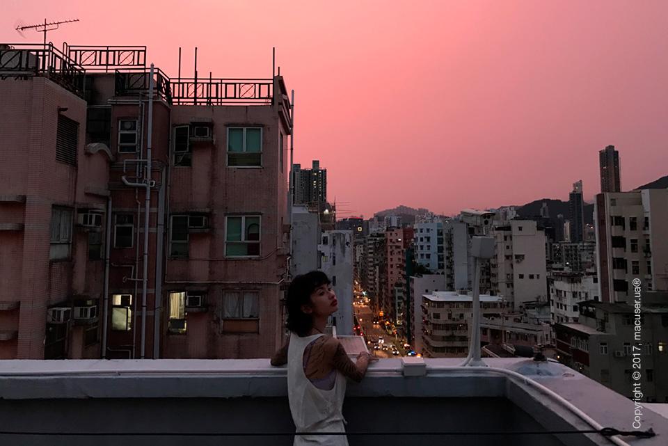 Красивый закат на iPhone 7