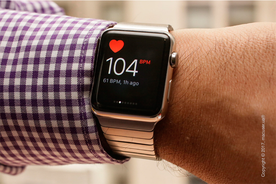 Пульсометр Apple Watch
