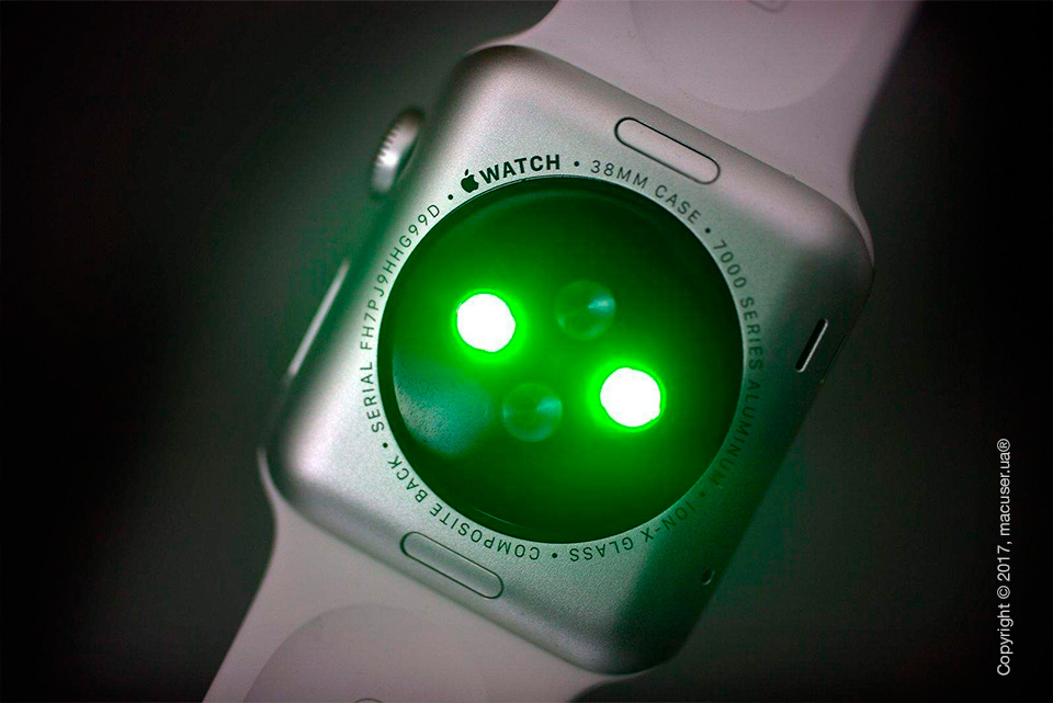 Датчик Apple Watch