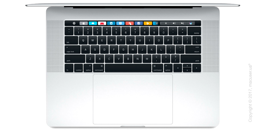 Apple MacBook Pro 15 Retina Silver MPTU2 with Touch Bar