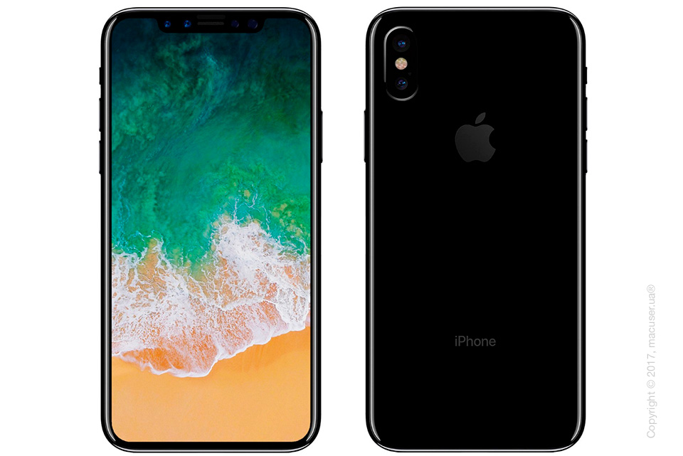 iPhone 8 вид спереди