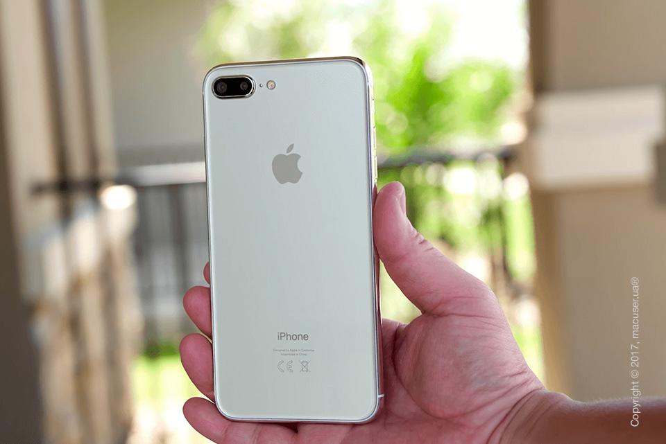 Серебристый iPhone 7s Plus