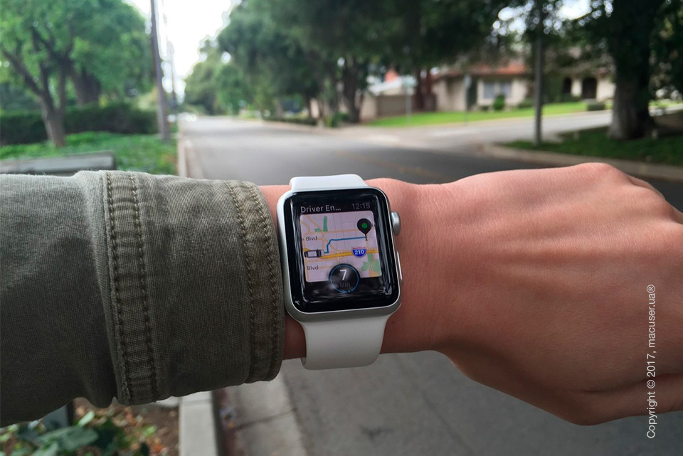 Навигация на Apple Watch