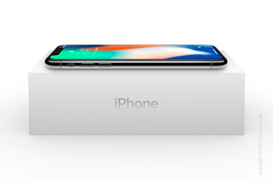 Коробка нового iPhone X