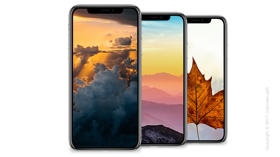 Обои для iPhone X