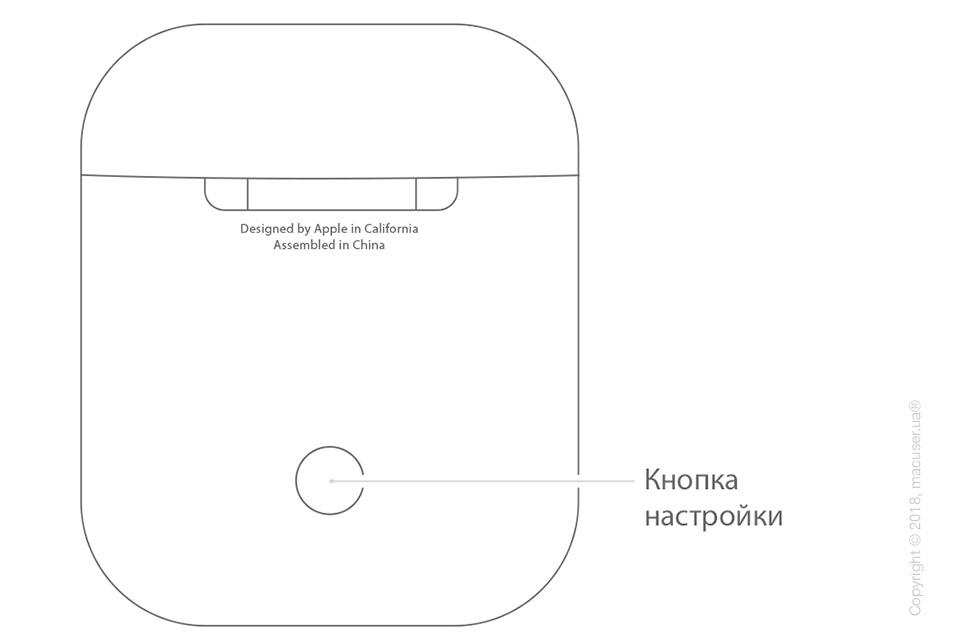 Затем держите крышку открытой и удерживайте кнопку на задней части чехла aad97d3289bc7