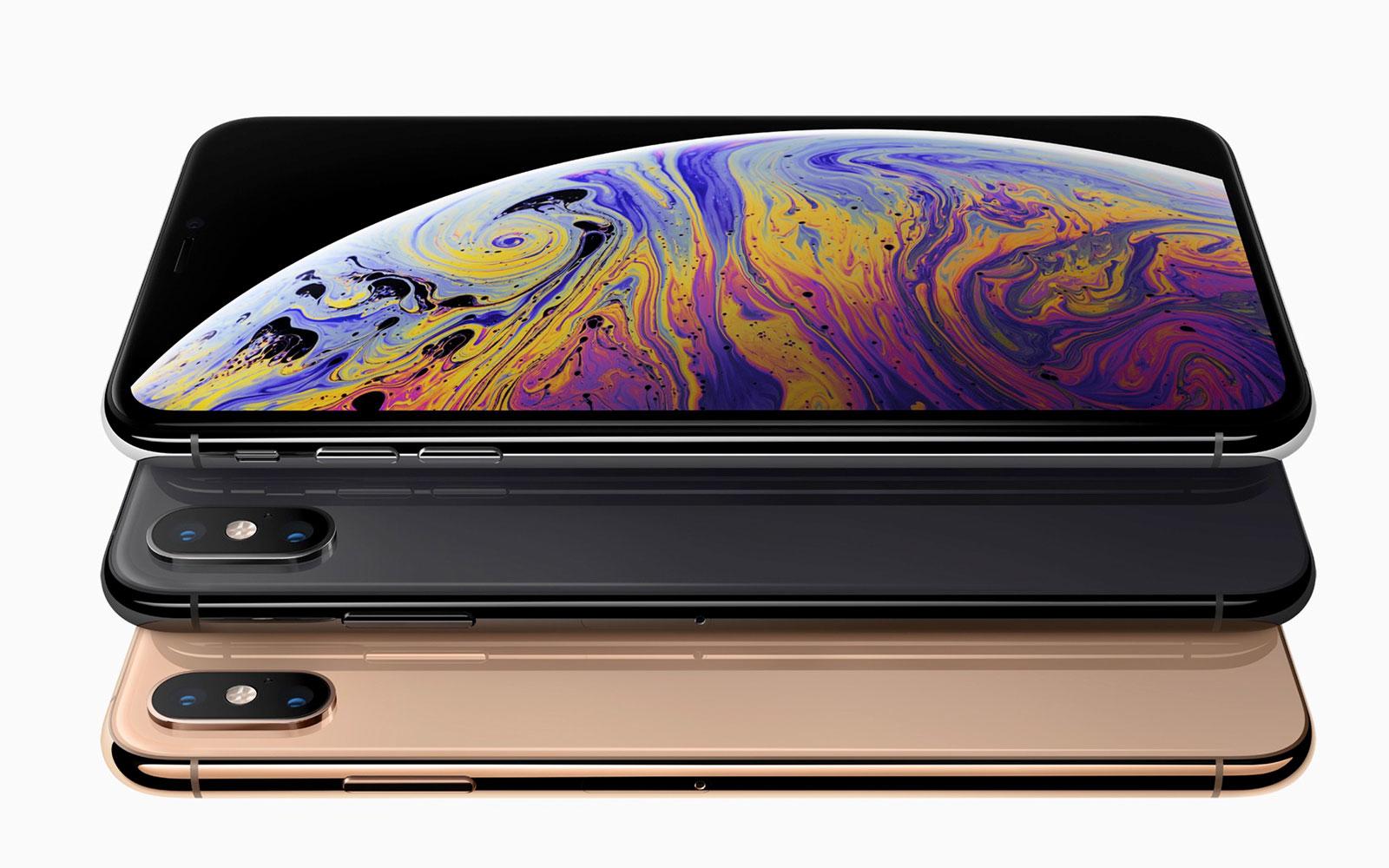 Сравнение iPhone XS, iPhone Xs Max и iPhone X