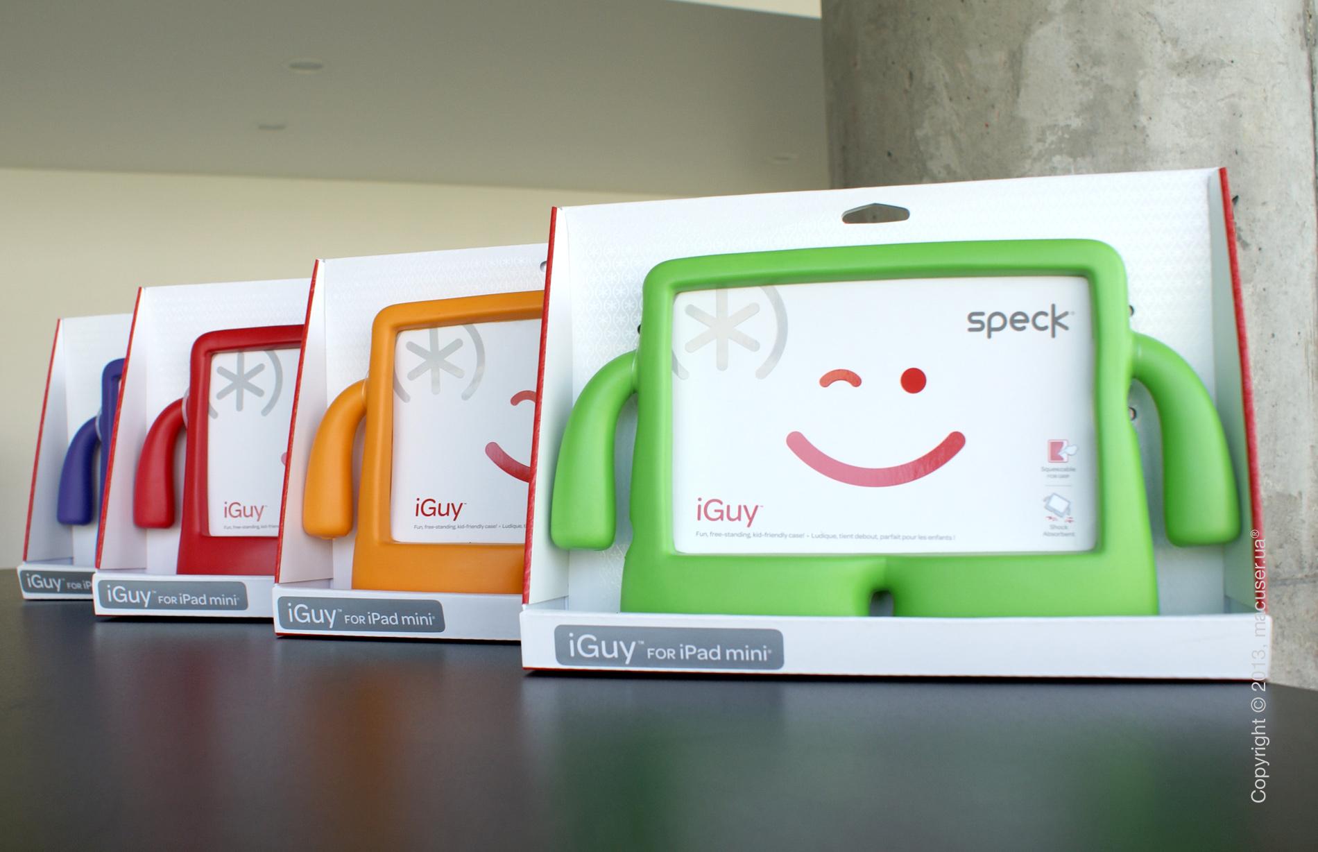 Детские чехлы для iPad и iPad mini - Speck iGuy