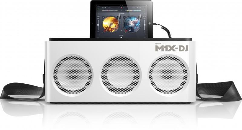Новая разработка от Philips - диджейская установка M1X-DJ.