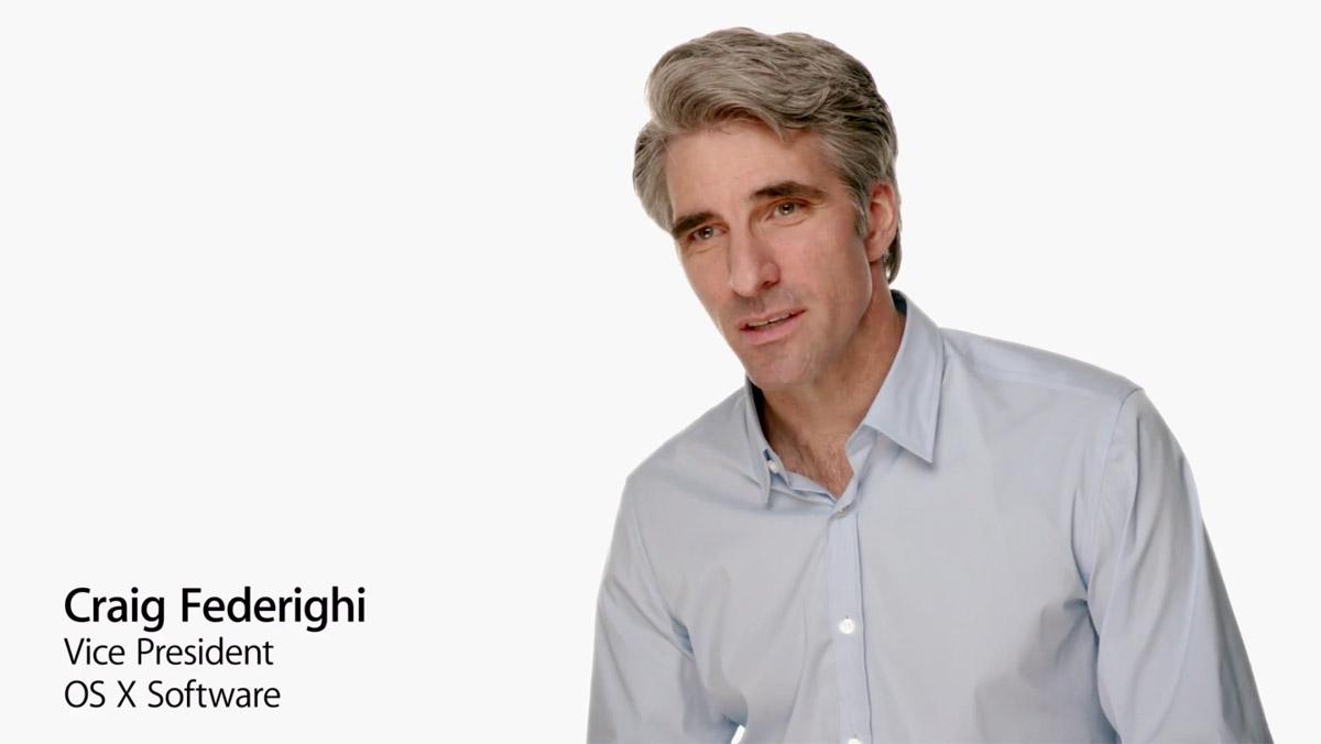 Знакомьтесь, новый фронтмен Apple - Крейг Федериги!