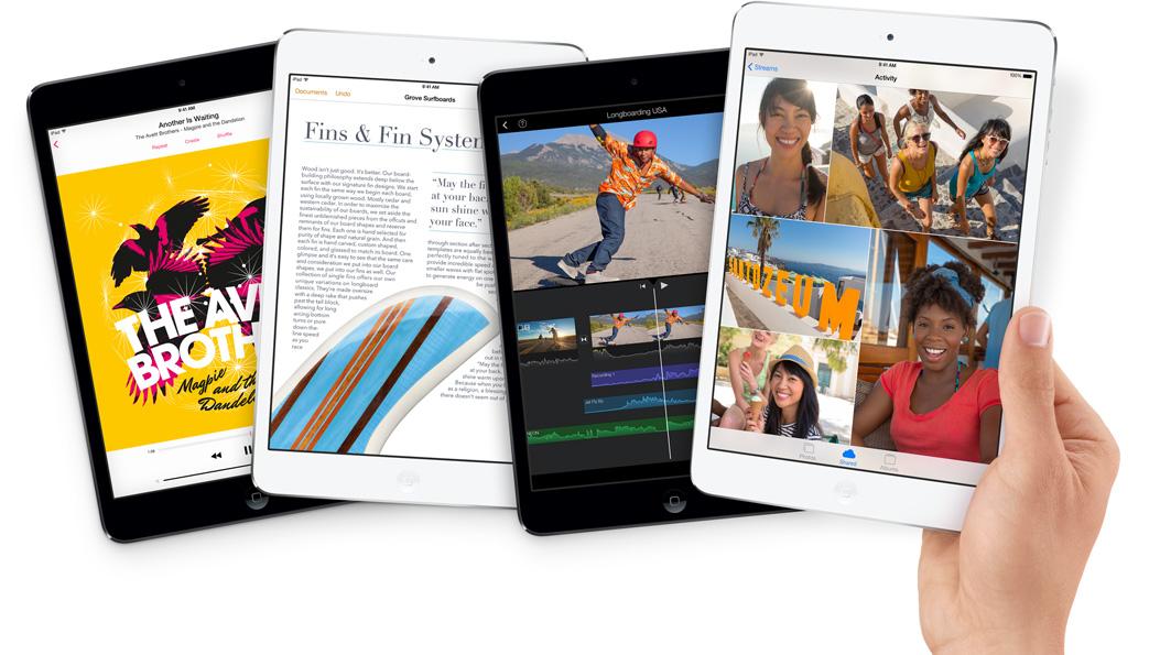 Новинка в линейке  планшетов Apple! Встречайте iPad mini с дисплеем Retina.