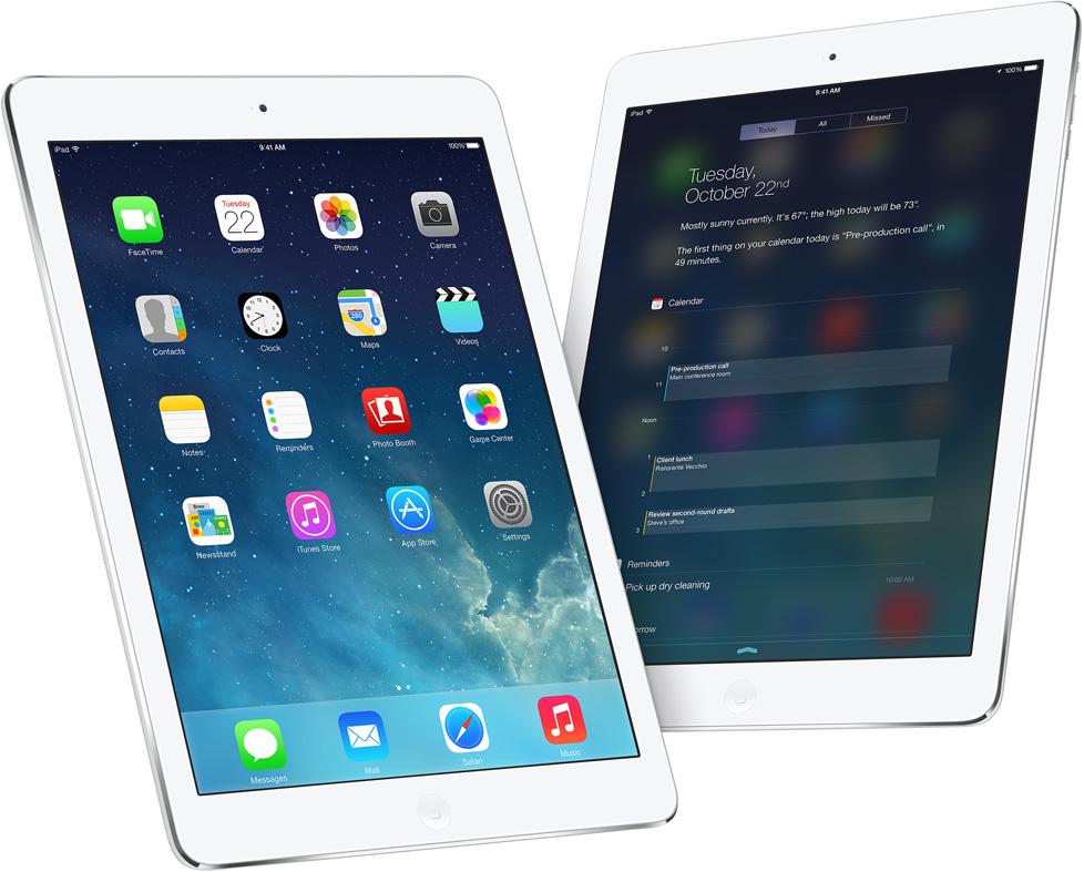 Прощай iPad 4Gen, здравствуй iPad Air!