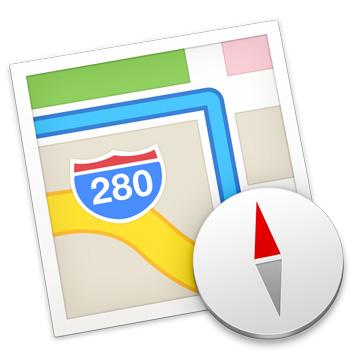 Краткая инструкция о том, как передать маршрут на карте с OS X Mavericks на iPhone/iPad