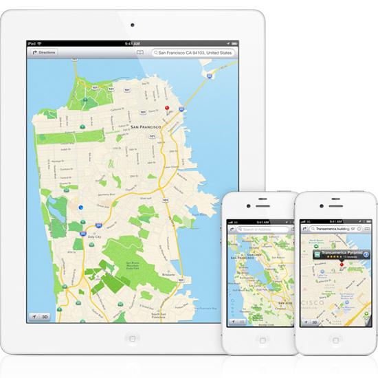 В Штатах Google проиграла в карты Apple