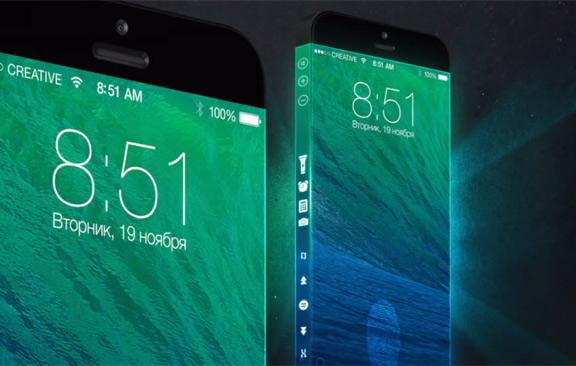 iPhone будущего будет обернут дисплеем