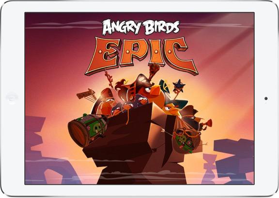 Как установить Angry Birds Epic на iPhone и iPad прямо сейчас