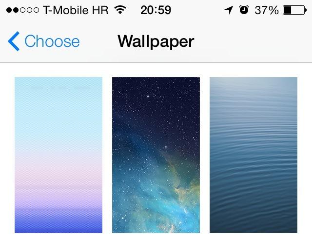 Абсолютно новые обои с iOS 7
