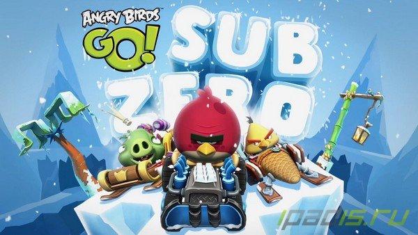 В App Store появилась обновленная Angry Birds Go