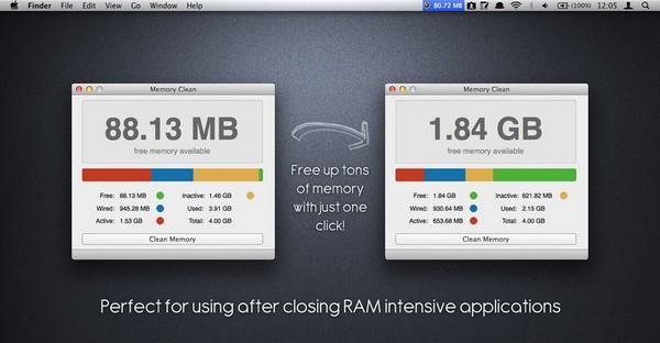 Как освободить операционную память на Mac OS X