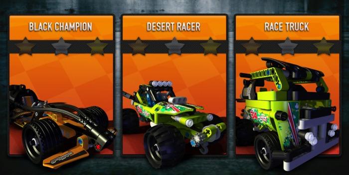 LEGO Technic Race - гонки, захватывающие дух