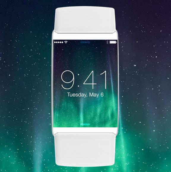 Дизайнер нарисовал концепт интерфейса часов iWatch в стиле iOS 7