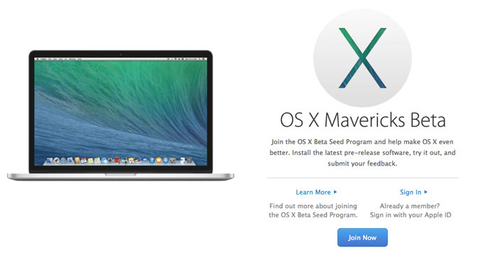 Бета версия OS X 10.9.3 стала доступна всем желающим