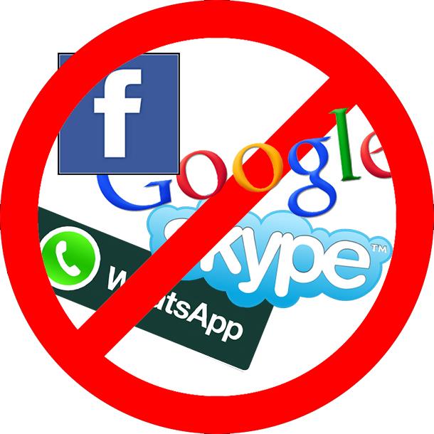 YouTube, Gmail, Skype и тд могут быть запрещены в России