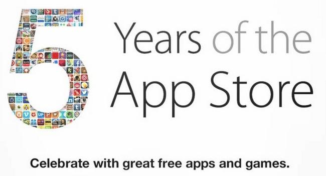 App Store с нами уже 5 лет