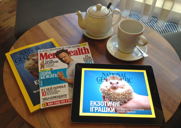 Печатные и iPad-версии популярных украинских изданий: что лучше?
