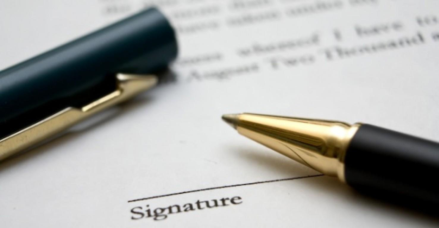 SignEasy – виртуальная подпись реальных документов