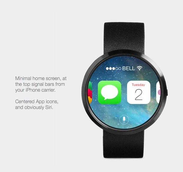 Дизайнер создал концепт iOS-интерфейса для iWatch