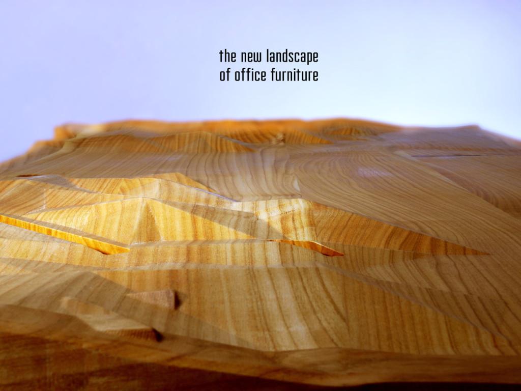 Горные вершины и впадины этого стола предназначены для удобного хранения ваших гаджетов