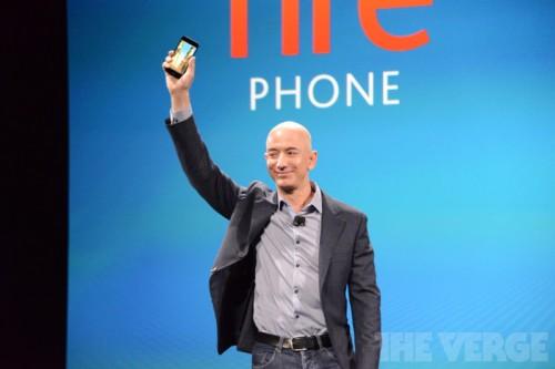 Amazon представила собственный смартфон