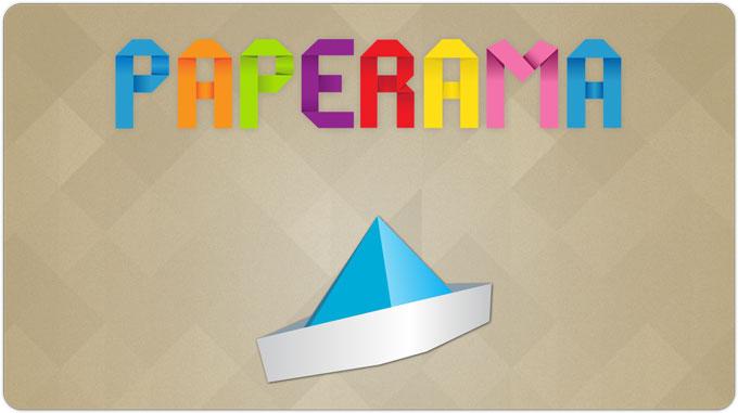 [App Store] Paperama. Головоломки из бумаги