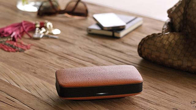 Pioneer представила линейку акустических систем для iPhone и iPad с отделкой из натуральной кожи