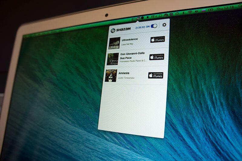 Распознаватель музыки Shazam появился для компьютеров Mac