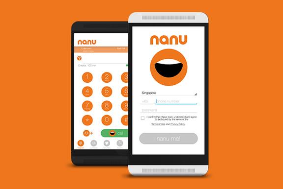 nanu: «первое в мире» приложение для бесплатных голосовых звонков по всему миру