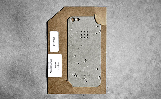 Необычный аксессуар для iPhone 5 – Posh Craft Luna Skin.