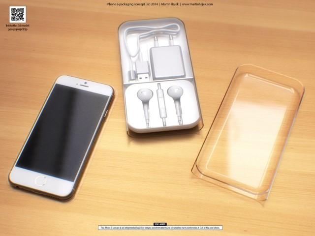 Как могла бы выглядеть упаковка iPhone 6 – великолепные рендеры Мартина Хайека