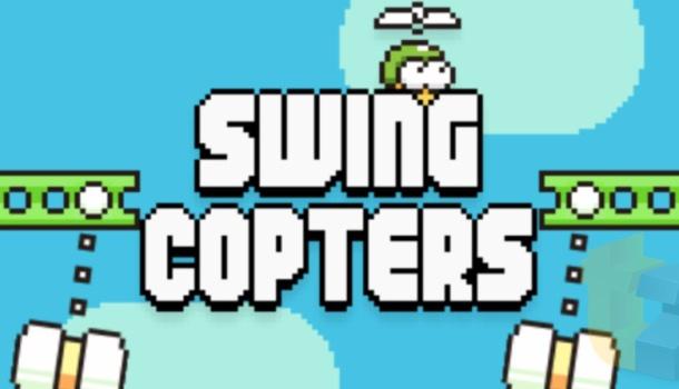 Swing Copters — новая игра от создателя Flappy Bird доступна в App Store (видео)