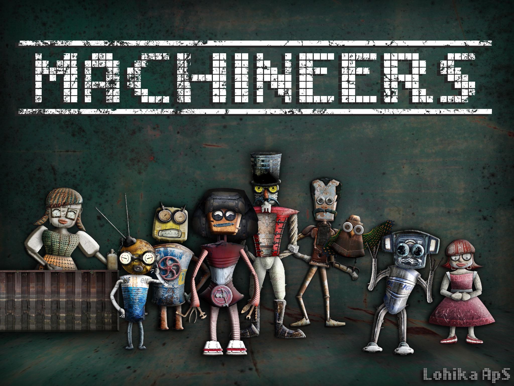 Machineers – очень интересная логическая головоломка (аналог «Заработало!»)